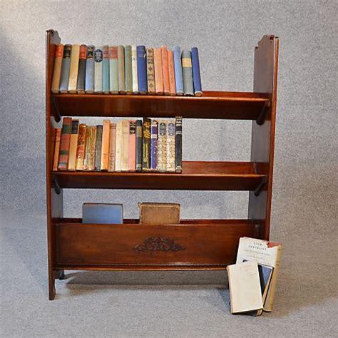 Antique Bookcase Book Magazine Rack Library Shelves Magazine Holders For Bookshelves