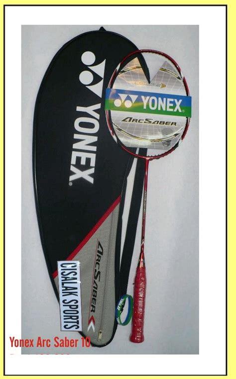 Raket Yonex Buatan Jepang cisalak sports yonex badminbton racket original
