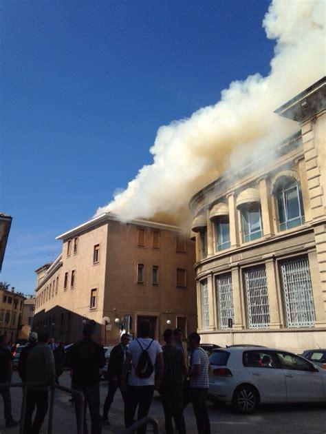 popolare di novara borgomanero grave incendio nella sede della caritas in centro a novara