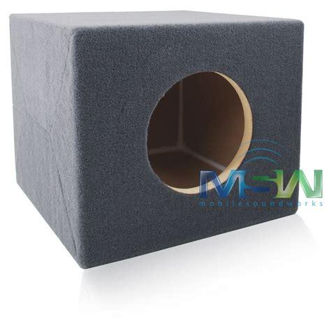 Box Speaker Subwoofer 8 Inch custom 8w7 mdf sealed sub enclosure box for single 8 inch jl audio 174 w7 woofer ebay