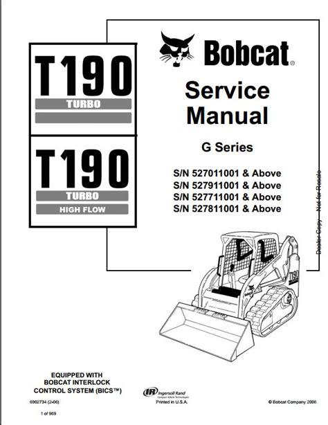 bobcat t190 wiring diagram wiring diagram and schematics