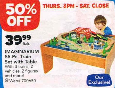 imaginarium set with table 55 black friday deal imaginarium set with table 55