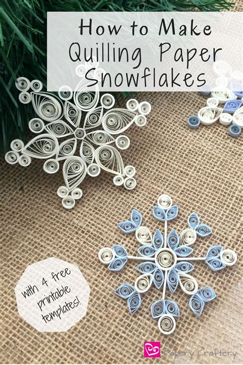 how to make quilling paper snowflakes helpful tips and