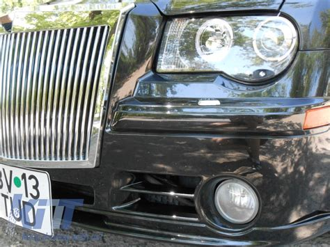 chrysler rolls royce front bumper chrysler 300c rolls royce phantom look 2004