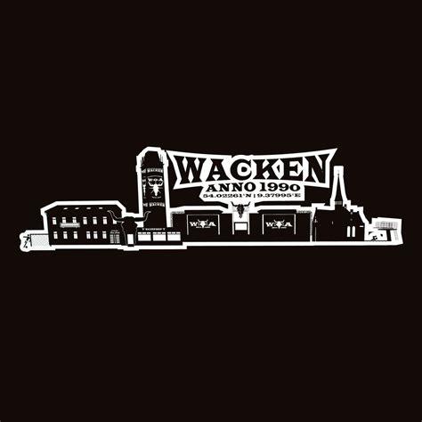 Wacken Heckscheibenaufkleber by W O A Heckscheibenaufkleber Skyline Www Metaltix