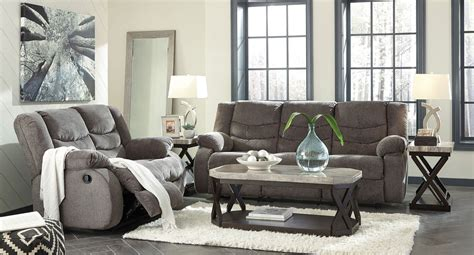 reclining living room sets tulen gray reclining living room set living room sets