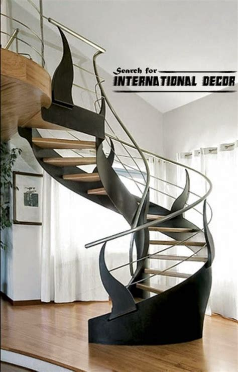 spiral staircase    floor  attic   private home international decoration