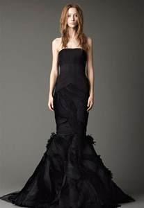 black dresses for a wedding black wedding dresses by vera wang ipunya