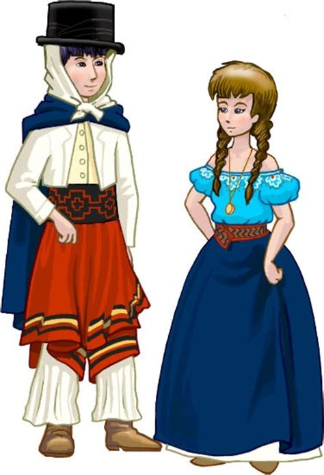 vestidos tipicos uruguay