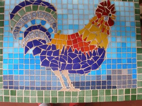 mosaic rooster pattern roosters on pinterest roosters mosaics and stained glass
