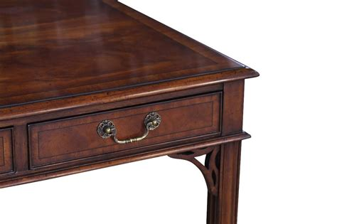 mahogany writing desk antique style mahogany writing desk higher end reproduction