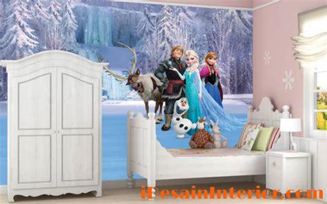 Sofa Anak Frozen wallpaper kamar anak perempuan frozen idesaininterior