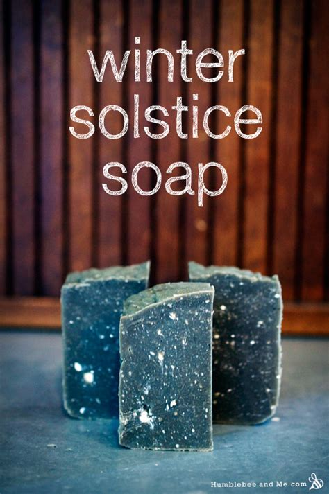 Handmade Soap Calgary - winter solstice soap sun and soaps