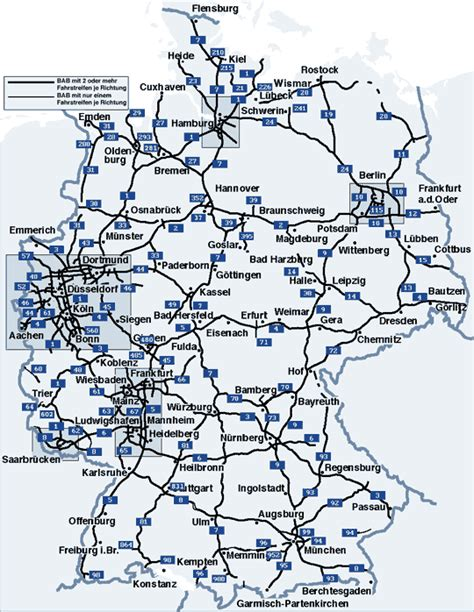 autobahn map germany travel maps weather