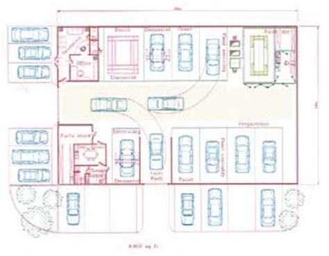 auto body shop floor plans bodyshop design layout