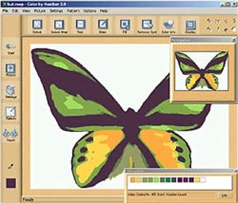 color by number convert photo to a paint by number pattern