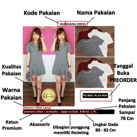Serena Premium Bkk Import Bangkok White Color keterangan belanja baju bangkok flipersshop supplier