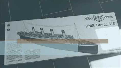 billing boats rms titanic rms titanic de billing boats 1 144 part 1 youtube