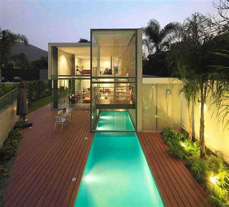 Contemporary House With Indoor Outdoor Pool Design Ideas House Plans With Indooroutdoor Pool