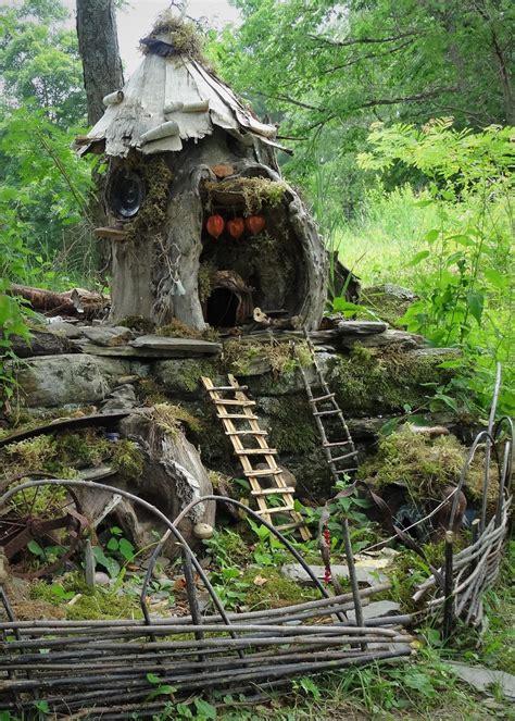 fairy houses  gnome homes   dragon   art
