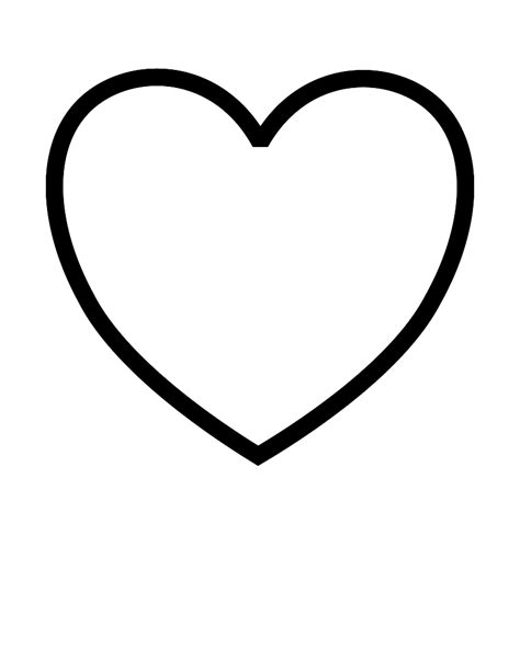 coloring page of a valentine heart heart coloring pages coloring pages