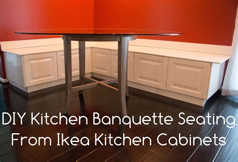 diy kitchen bench or banquette seating