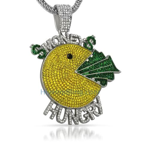 money hungry custom hip hop pendant discontinued bling