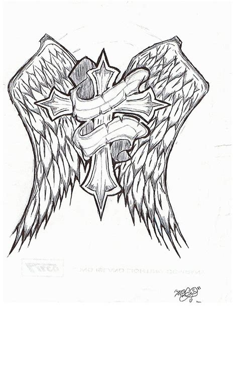 rip cross tattoo rip cross by hybridthnkin on deviantart