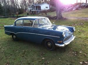 1959 Opel Rekord 1959 Opel Olympia Rekord German Cars For Sale