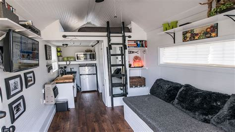 Furnishing A Small Room Inside Tiny House Interior Design