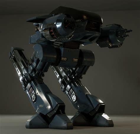 Blender Robocop ed 209 wip 2 by piitas on deviantart