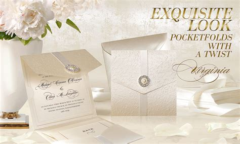 Wedding Invitations Virginia by Pocketfold Wedding Invitations Uk Virginia Weddingsoon