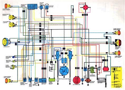 honda cb350 wiring diagram