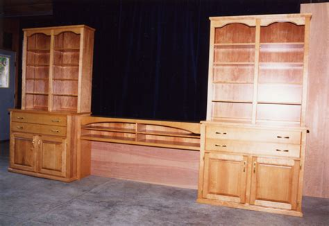 Dresser With Bookshelf by Bedroom Maple Dresser Bookcase Headboard 171 Ebben Custom