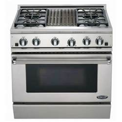 Dacor 30 Gas Cooktop Dcs Ranges 36 Inch Natural Gas Range With Grill By Fisher