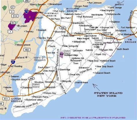 sections of staten island staten island map map3