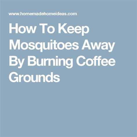 1000 ideas about keep mosquitoes away on pinterest