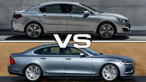 peugeot 508 new model 2017 peugeot 508 vs volvo s90