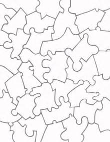 Jigsaw Puzzle Template by Paper Jigsaw Puzzle Templates Learn To Coloring