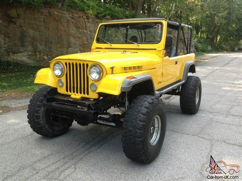 built jeep jeep scrambler cj8 extra clean 350 built motor rock