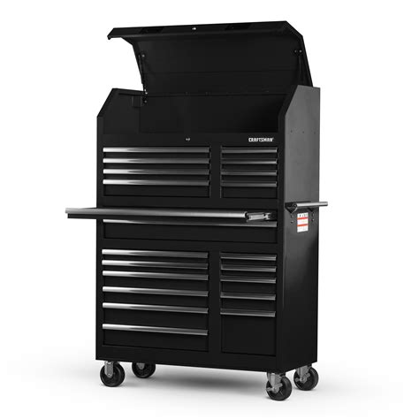 craftsman 8 drawer tool chest combo craftsman 42 20 drawer wall tower combo black shop