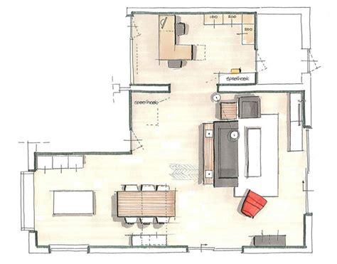 keuken inspiratie l vorm richt een l vorm woonkamer in makeover nl