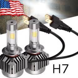 Led Car Headlight Bulbs Yita Car 120w 12000lm Kit H7 Hid White 6000k Led