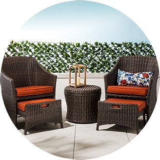 Patio Table And Chairs For Small Spaces Patio Furniture Target