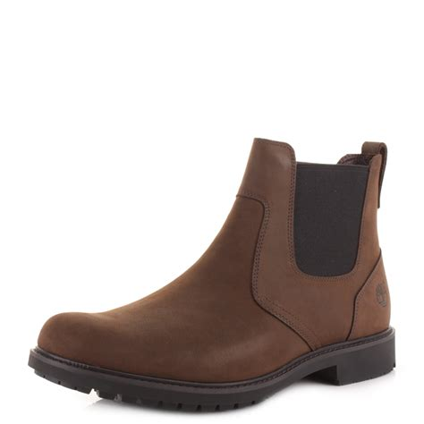 mens brown timberland boots mens timberland earthkeepers stormbuck chelsea brown