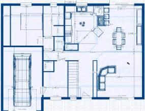 plan de construction d une maison moderne