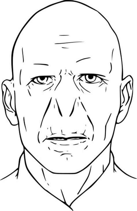harry potter lord voldemort coloring pages coloriage voldemort 224 imprimer