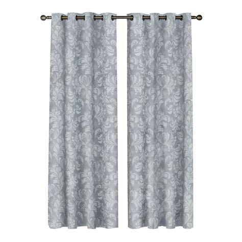 linen curtain panels 96 window elements dover linen blend 96 in l grommet curtain