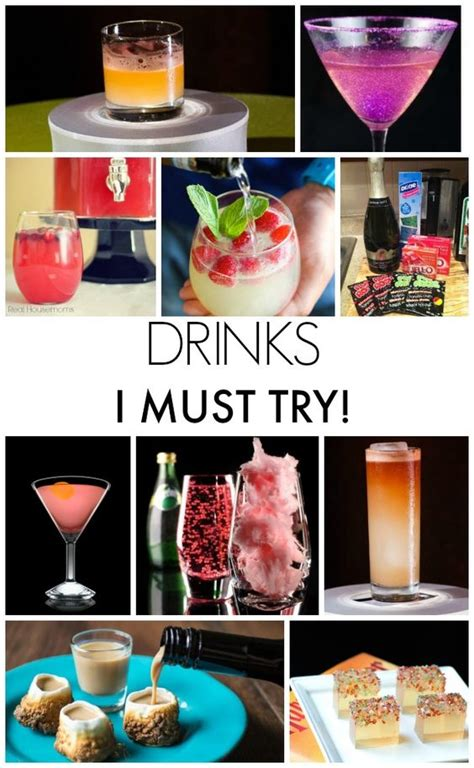 new year drink ideas new year s drink recipes drink recipes drinks and