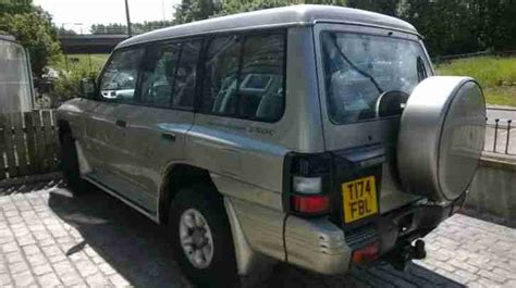 how make cars 1999 mitsubishi pajero seat position control mitsubishi 1999 shogun pajero 7 seat seater towbar low miles great 4x4